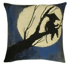 """MOON GIRL, 18"""" 45CM TAPESTRY CUSHION COVER 5502, 100% COTTON, MADE IN BELGIUM"""