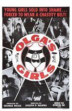 OLGA'S GIRLS  60's exploitation, grind-house, slavery, vintage underground, bdsm