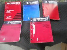 Tecumseh Factory Original Mechanics Handbooks LOT OF 5  FREE SHIPPING