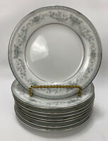 """Colburn By Noritake Set of 8 Small Bread & Butter Plates 6 1/4"""" Vintage China"""