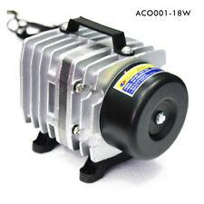 Fish Tank Oxygen Aquarium Electromagnetic Air Pump Hydroponics Pond 65L/Min DI