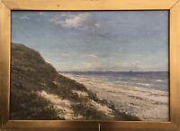 William Henriksen 1880-1964 Dünen am Strand Meer Kattegat Dänemark Skandinavien