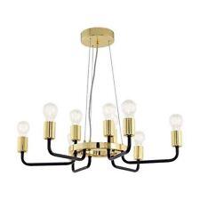 Lampadari da soffitto E27 in oro da 7-12 luci