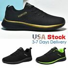 Mens Outdoor Jogging Sneakers Athletic Casual Sports Running Tennis Shoes Gym