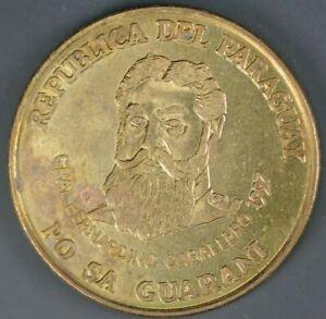1997 500 Guaranies Paraguay AU+ - Km#194
