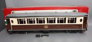 LGB 32650 G Scale Orient Express Voiture Salon Passenger Car - Metal Wheels EX