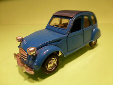POLISTIL 1:25  CITROEN 2CV  S-26  - COLOR=BLUE  - RARE SELTEN - GOOD CONDITION