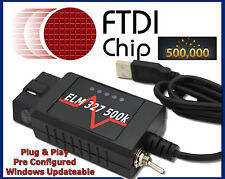 Ford Mondeo USB OBD OBD2 Interface Scanner Fault Code Diagnostic Tool