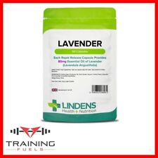 Lindens Lavender Essential Oil 80mg 60 Capsules Sleep & Relaxation
