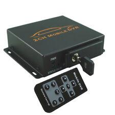 Q57 2 Channel DVR digital SD Karte Video Foto Rekorder Überwachung Kamera+ Alarm