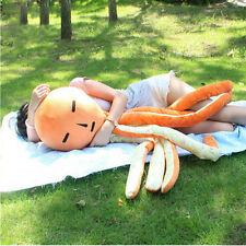 Emoji Anime Octopus Toy Giant 130cm Stuffed Funny Octopus Pillow Doll 51inch