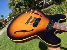 Gibson ES-335 Gloss P-90 Sunburst Lefty Left Handed w/ COA