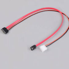 7+6 Pins slimline sata cable for slim latop SATA DVD+/-RW Drive power cord to PC