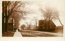 New York, NY, Brier Hill, Main Street 1917 Real Photo Postcard