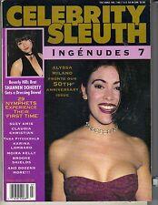 ALYSSA MILANO Celebrity Sleuth 1994 Vol 7 No 7 SHANNEN DOHERTY BROOKE SHIELDS