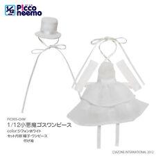 Azone Picconeemo Little Devil Goth Onepiece gasa blanca 1/12 14cm muñeca de moda