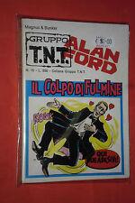 ALAN FORD-1° serie GRUPPO TNT ORIGINALI- N°15 d COMPLETO ADESIVI ANCORA ATTACCAT