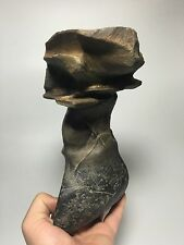 R1 Natural polished Viewing stone suiseki-old collection Modern Shape