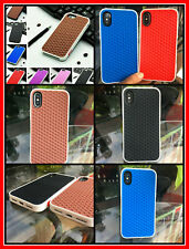 Back Case Cover Soft Silicone Waffle Design Case For Iphone 6 7 8 X XR XS MAX 11