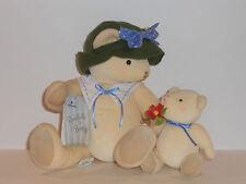 Hallmark Mom & Child Plush Bear Set Featuring Annabelle & Breezy Very Sweet