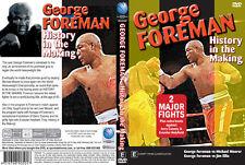 GEORGE FOREMAN 4 DVD BUNDLE BOXING DVD -SPECIAL OFFER