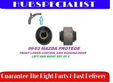 FRONT LOWER CONTROL ARM BUSHING-REAR 99-03 MAZDA PROTEGE SET OF 2