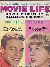 APRIL 1962 MOVIE LIFE vintage movie magazine HAYLEY MILLS