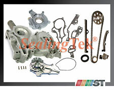 Fit 1983-84 Toyota 2.4L 22R Engine Timing Chain Kit with Cover & Oil Water Pump