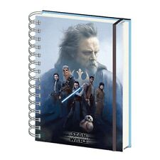 Genuine Star Wars The Last Jedi Cast A5 Lenticular Notebook Note Pad Journal