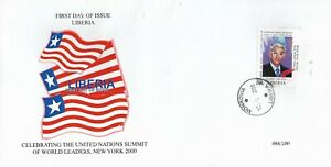 D3) USA UN Summit FDC First Day Cover MNH Belize Prime Minister Said Musa