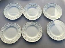 New ListingVintage Wedgwood Embossed Queensware Bread Plates x 6 Guc Made England