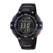 Casio - SGW100-2B - Twin Sensor Digital Display Quartz Men's Smart Watch - Black