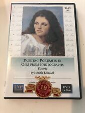 Painting Portraits In Oils From Photographs: Victoria - DVD Johnnie Liliedahl