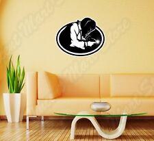 "Welding Helmet Welder Torch Weld Oval Wall Sticker Room Interior Decor 25""X20"""