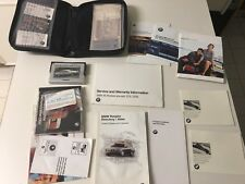 1999 BMW 740il Owners Manuals Books And Leather Pouch