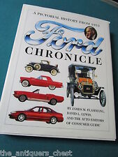 Ford Chronicle BOOK : A Pictorial History from 1893 by David Levering Lewis