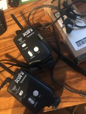 2 Pocket Wizard PLUS II Tranceivers Plus PC/Flash sync cables with Cables