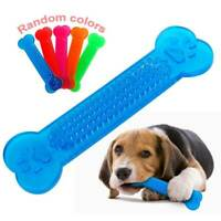 Puppy Dog Chew Toys Bone For Aggressive Chewers Dogs Indestructible Rubber Toy