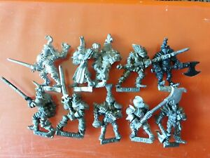10x F2 lord of Battle fighter knight citadel gw games  workshop Fighters lords