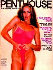 Penthouse Magazine Volume 16 Number 1 A Brace Of BMW LJK Setright Issue Vintage