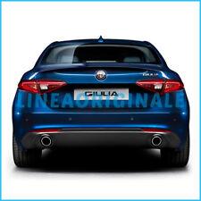 Doppio Terminale Scarico Finto ORIGINALE Alfa Romeo Giulia per versioni Diesel