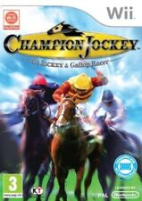 Champion Jockey G1 Jockey & Gallop Racer Wii PAL VERY GOOD CONDITION WITH MANUAL