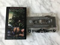 Fleetwood Mac Tango In The Night CASSETTE Tape 1987 Warner Stevie Nicks RARE OOP