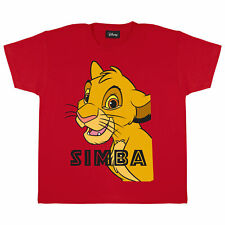 Girls Disney The Lion King T Shirt Simba King Of The Jungle Official Merchandise