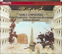 Mozart: Early Symphonies [Box Set] (CD, Sep-1990, 6 Discs, Philips)