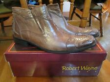 Robert Wayne Durango Mens Leather Western Flair Boots 11 - Original Box