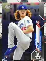 DUSTIN MAY ROOKIE RC 2020 TOPPS CHROME #176 DODGERS MY3