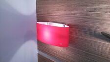 Leucos Vittoria P2 applique rosso satinato 1 x 150W