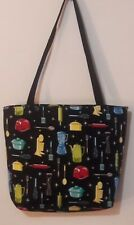 ALL ABOUT THE KITCHEN APPLIANCES PRINT TOTE BAG - LARGE