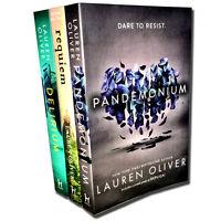 Delirium Trilogy Series Collection Lauren Oliver 3 Books Set Pandemonium Requiem
